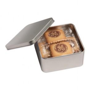 12 Vanille-Butterkekse in Metallbox