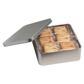 24 Vanille-Butterkekse in Metallbox
