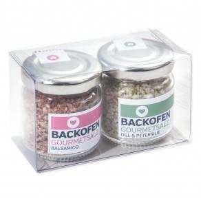 BACKOFEN-Gourmetsalz 2er-Set