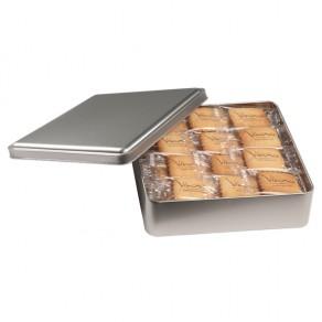 48 Vanille-Butterkekse in Metallbox
