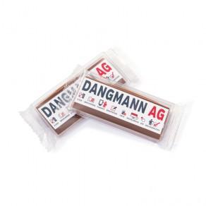 Handgeschöpfte Karamell-Schokolade im Riegelformat