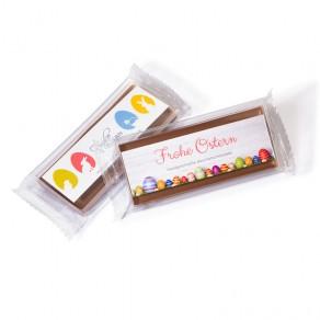 Handgeschöpfte Premium-Schokolade im Riegelformat