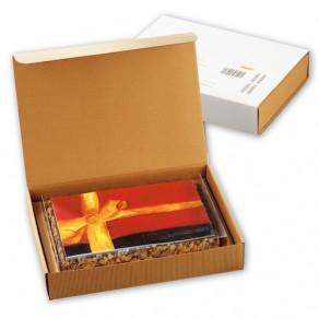 L-logolini-Torte in Klarsicht- und Präsentkarton