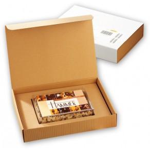M-logolini-Torte in Klarsicht- und Präsentkarton
