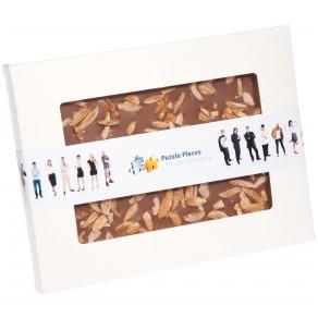 Handgeschöpfte Schokolade in Sichtfensterkarton XL