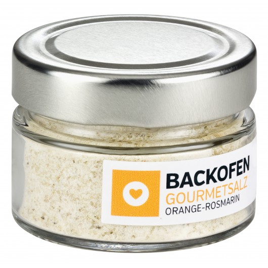 BACKOFEN-GOURMETSALZ ORANGE-ROSMARIN