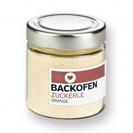 BACKOFEN-ZUCKERLE ORANGE